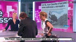 Caroline Roux dans la Matinale - 08/05/12 - 04