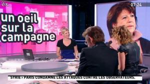Caroline Roux dans la Matinale - 11/01/12 - 05