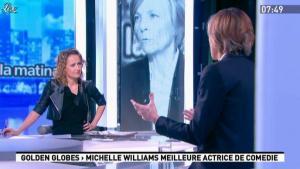 Caroline Roux dans la Matinale - 16/01/12 - 05