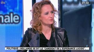Caroline Roux dans la Matinale - 16/01/12 - 07
