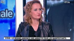 Caroline Roux dans la Matinale - 16/01/12 - 10