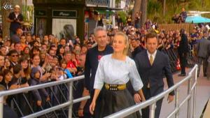 Diane Kruger dans le Grand Journal de Canal Plus - 17/05/12 - 09