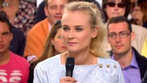 Diane Kruger dans le Grand Journal de Canal Plus - 17/05/12 - 10