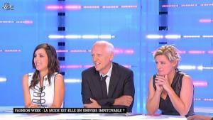 Elise Chassaing et Anne-Elisabeth Lemoine dans la Nouvelle Edition - 30/09/11 - 03