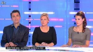 Emilie Besse dans la Nouvelle Edition - 05/01/12 - 09