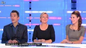 Emilie Besse dans la Nouvelle Edition - 05/01/12 - 10