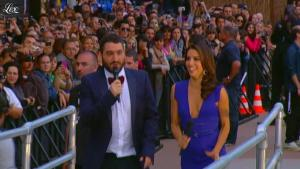 Eva Longoria dans le Grand Journal de Canal Plus - 17/05/12 - 18