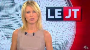 Florence Dauchez dans le JT de Canal Plus - 13/10/11 - 04