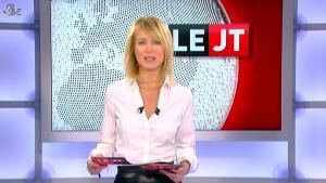 Florence Dauchez dans le JT de Canal Plus - 16/02/12 - 02