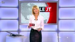 Florence Dauchez dans le JT de Canal Plus - 16/02/12 - 04