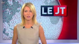 Florence Dauchez dans le JT de Canal Plus - 24/10/11 - 01