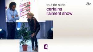 Stéphanie Renouvin dans Certains l Aiment Show - 15/03/11 - 01