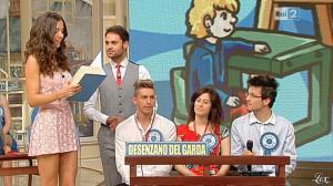 Laura Barriales dans Mezzogiorno in Famiglia - 12/05/13 - 10