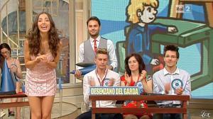 Laura Barriales dans Mezzogiorno in Famiglia - 12/05/13 - 11
