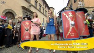 Silvia Squizzato et Laura Squizzato dans Mezzogiorno in Famiglia - 19/05/13 - 04