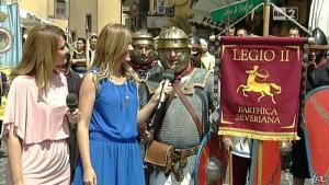 Silvia Squizzato et Laura Squizzato dans Mezzogiorno in Famiglia - 19/05/13 - 08