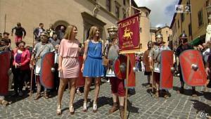 Silvia Squizzato et Laura Squizzato dans Mezzogiorno in Famiglia - 19/05/13 - 09