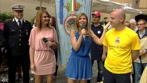 Silvia Squizzato et Laura Squizzato dans Mezzogiorno in Famiglia - 19/05/13 - 19