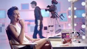 Alessandra Sublet dans une Publicité Gerlinea - 13/03/14 - 02