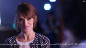 Amélie Remacle dans Une Publicité pour la Suzuki Swift - 08/05/14 - 02