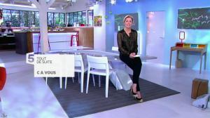 Anne-Sophie Lapix dans C à Vous - 20/03/14 - 01