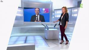 Caroline Roux dans C Politique - 12/01/14 - 01
