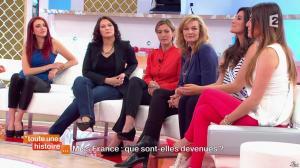 Delphine Wespiser, Marilou Cubaynes et Sophie Gaerenaux dans Toute une Histoire - 30/04/14 - 20