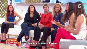 Delphine Wespiser, Marilou Cubaynes et Sophie Gaerenaux dans Toute une Histoire - 30/04/14 - 23