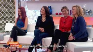 Delphine Wespiser dans Toute une Histoire - 30/04/14 - 02
