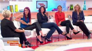 Delphine Wespiser dans Toute une Histoire - 30/04/14 - 13