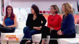Delphine Wespiser dans Toute une Histoire - 30/04/14 - 17