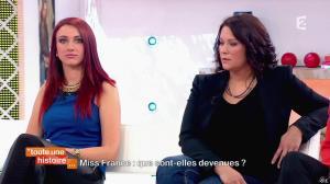 Delphine Wespiser dans Toute une Histoire - 30/04/14 - 18