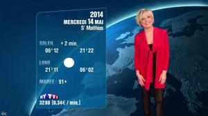 Evelyne Dhéliat à la Météo de 20h - 13/05/14 - 02