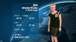 Evelyne Dhéliat à la Météo de 20h - 15/04/14 - 02