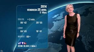 Evelyne Dhéliat à la Météo de 20h - 24/04/14 - 02