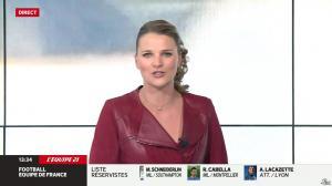 France Pierron dans Menu Sport - 14/05/14 - 11