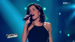 Jenifer Bartoli dans Intro de The Voice - 11/01/14 - 03