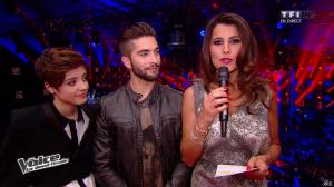 Karine Ferri dans The Voice - 03/05/14 - 01