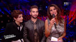 Karine Ferri dans The Voice - 03/05/14 - 02
