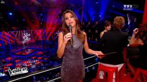 Karine Ferri dans The Voice - 19/04/14 - 02