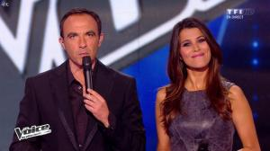 Karine Ferri dans The Voice - 19/04/14 - 04