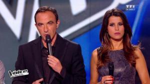 Karine Ferri dans The Voice - 19/04/14 - 08