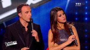 Karine Ferri dans The Voice - 19/04/14 - 10
