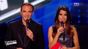 Karine Ferri dans The Voice - 19/04/14 - 12