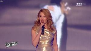 Kylie Minogue dans The Voice - 10/05/14 - 01