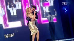Kylie Minogue dans The Voice - 10/05/14 - 02