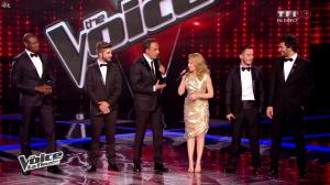 Kylie Minogue dans The Voice - 10/05/14 - 04