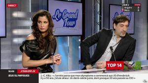 Malika Ménard dans le Grand Tour - 29/03/14 - 06