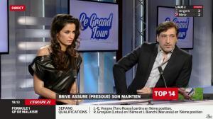 Malika Ménard dans le Grand Tour - 29/03/14 - 09