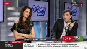 Malika Ménard dans le Grand Tour - 29/03/14 - 10